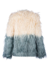 ombra faux fur jacket