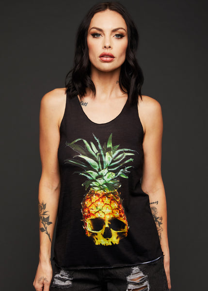 pineapple skull top