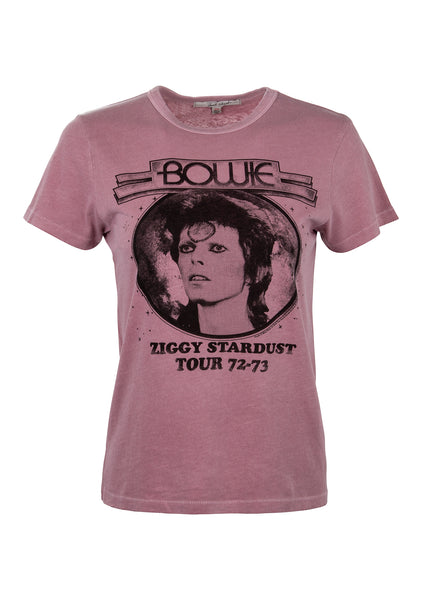 purple David Bowie shirt