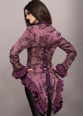 purple tail jacket