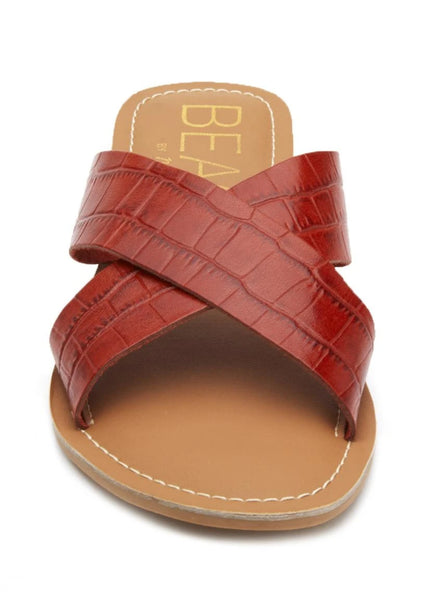 red pebble sandal by matisse