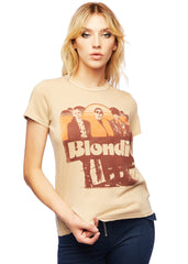 retro blondie band tee