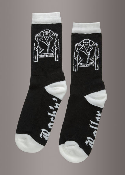 rock n roll novelty socks