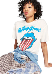 rolling stones usa tongue tee