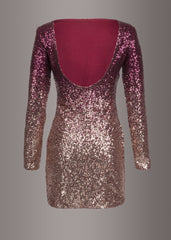 Sequins cocktail dress