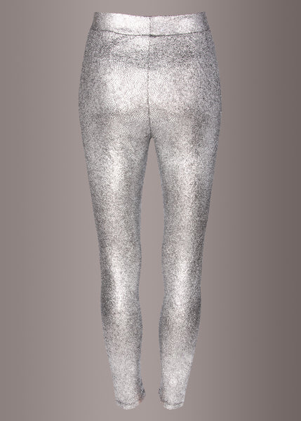 silver sequin pants