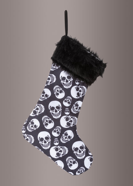 skull christmas stocking