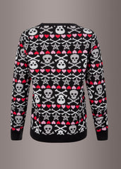 Gothic ugly christmas sweater