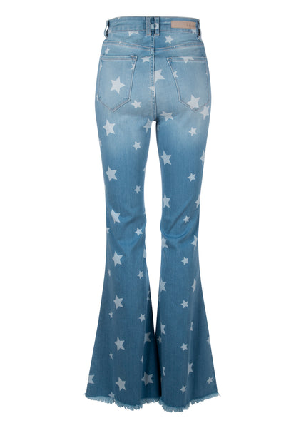 star denim bell bottoms