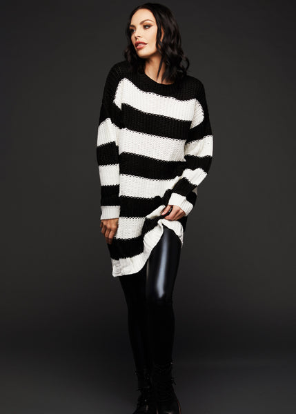 women's cozy sweater dress