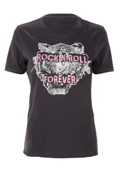 Tiger Rock'n'Roll Forever Relaxed Short-Sleeve T-Shirt