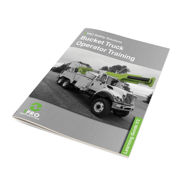 Bucket Truck Operator Learning Guide V3