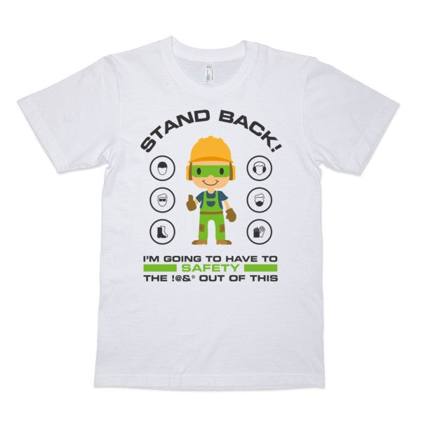 EPRO's STAND BACK T-Shirt (White)