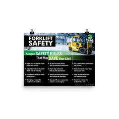 EPRO Forklift Safety Poster