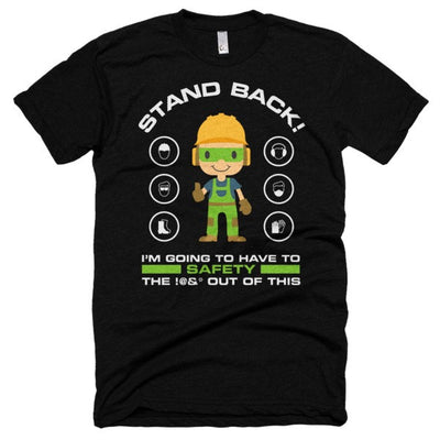 EPRO's STAND BACK T-Shirt (Black)
