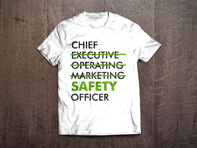 EPRO Chief SAFETY Officer T-Shirt (White)
