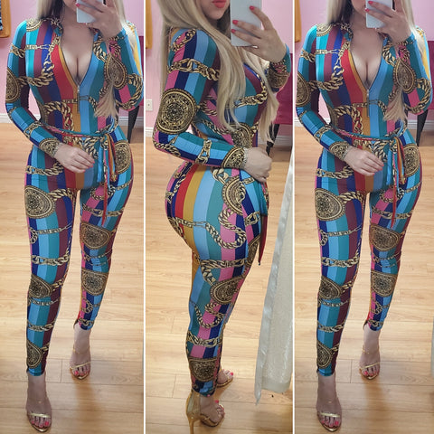 Playful Night Jumpsuit