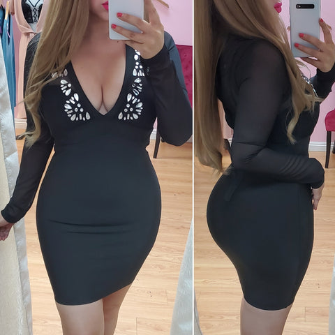 Love Spell Bandage Dress