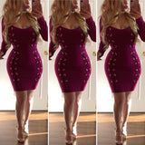 Naughty by Nature Bandage Dress