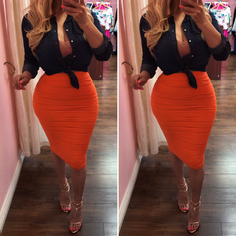 Estella Pencil Skirts - One Size