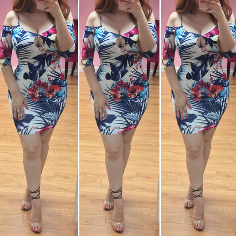 Yesenia Tropical Dress