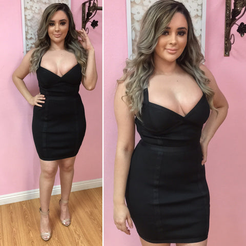 Nallely Bandage Dress