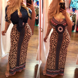 Off to Vacation Maxi Dress