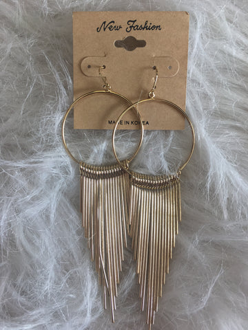 GA107-Gold Earrings