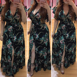 Tropical Escape Maxi  Dress