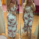 Romantic Soul Floral Maxi  Dress
