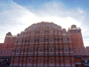 India : Jaipur i.e. the pink city, i.e. our dream