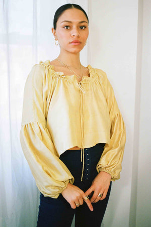Darcy Top - Gold