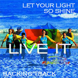 """Let Your Light So Shine"" Instrumental Backing Track"