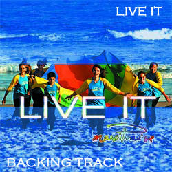 """Live It"" Instrumental Backing Track"