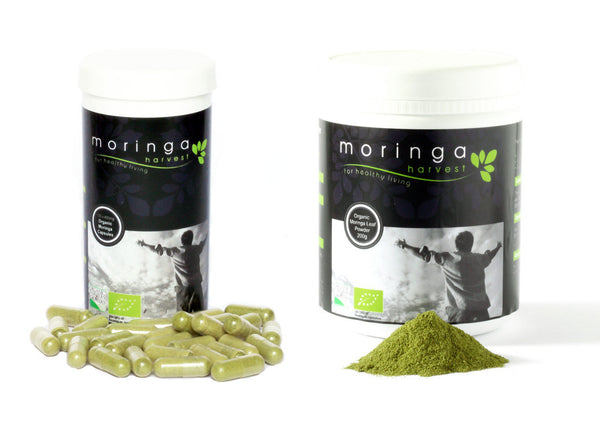 Combo Pack of Moringa Powder and Capsules