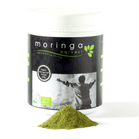 Premium Organic Moringa Loose Leaf Powder (200g) (Stock Clearance)