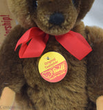 Steiff Brown Mohair Teddy Bear