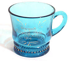 Ring & Beads - Blue Mug - Souvenir Alliance, OH