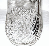 EAPG - Riverside - Diamond Swirl / Swirl & Diamond / America - Tankard Pitcher 12 1/2""