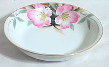 "Noritake - Azalea - Fruit, Berry or Sauce Dish 5 1/4"" - Lot of 5"