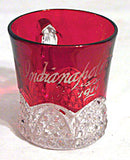 Ruby Stained Button Arches - Souvenir Mug - Indianapolis 1911