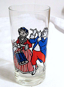 Borden Co - Elsie the Cow - Bicentennial Collector Drinking Glasses - Set of 4