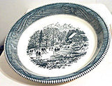 Royal China - Currier & Ives - Pie Baker