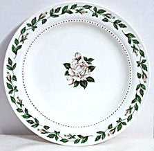 "Hall China - Cameo Rose - Salad Plates 7.25"" - Lot of 7"