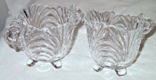 Elegant Glass - Cambridge - Caprice - Cream & Sugar Set