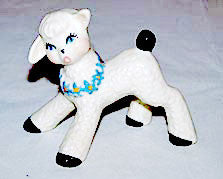 "CAS - Ceramic Arts Studio - Frisky Lamb 3"" High"