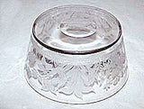 "EAPG - Hobbs Brockunier - Flamingo Habitat - Blown Finger Bowl 5"" - 1880s"
