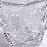 Elegant Glass - Duncan Miller - Language of Flowers - Cream & Sugar