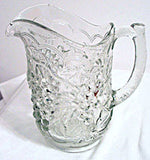 Imperial Glass - Grape - Pitcher - 8 1/4""
