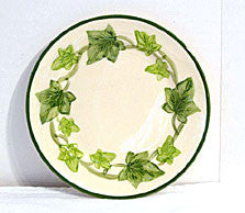 "Gladding McBean - Franciscan Ivy - 6"" Bread / Dessert Plates - Set of 8"